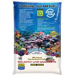 NATURAL WHITE LIVE SAND Kg.4,54 - 0,1-0,5mm